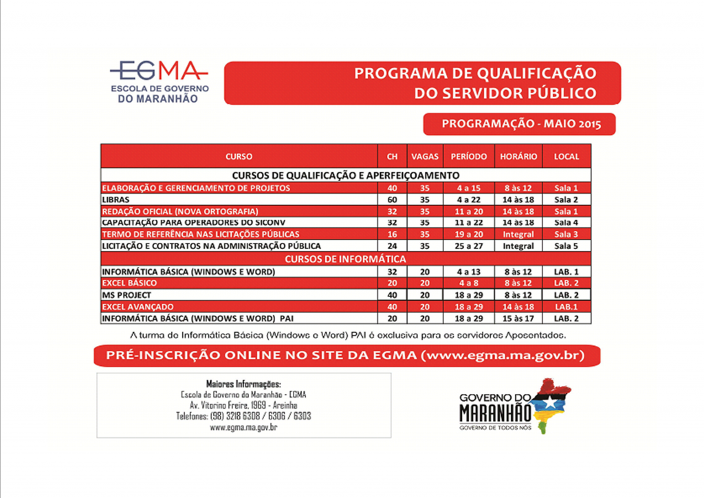 curso egma maio 2015