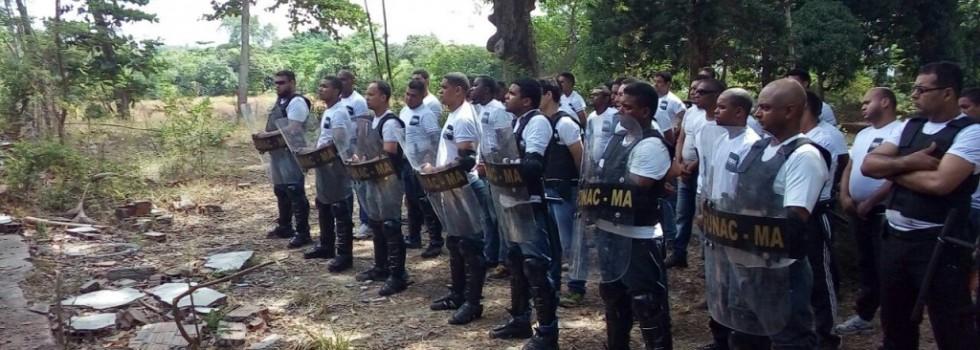 Servidores da Funac no curso de intervenção