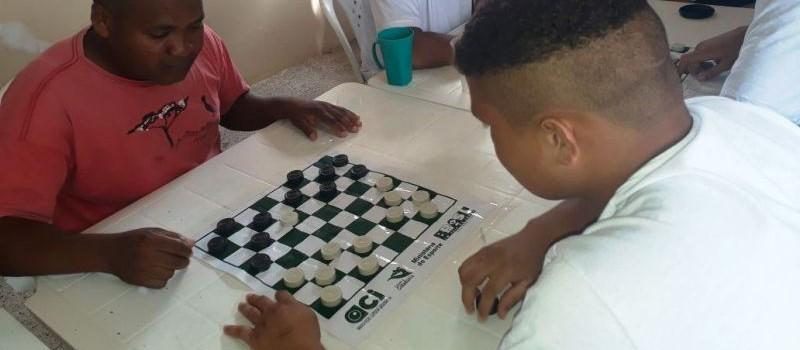 campeonato dama e domino