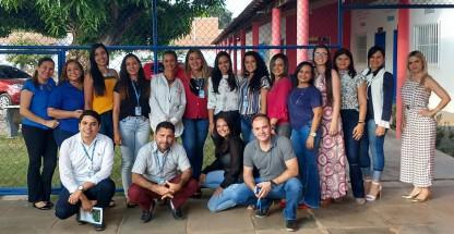 Equipe dos Centros Socioeducativos de Imperatriz